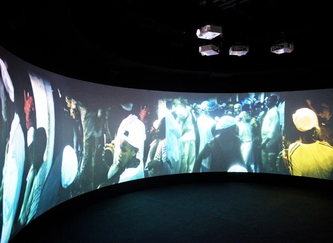 Vue de l'exposition, Rythmes et rites sacrés © Cité de la musique